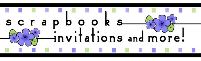 Scrapbooks Invitations and More Logo