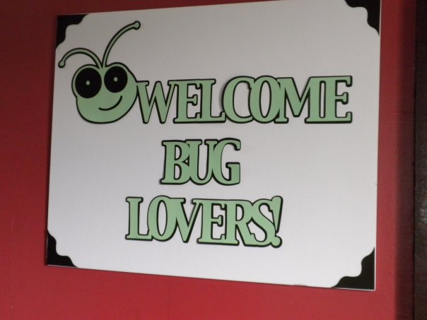 Cricut Swarm welcome sign scrap chic