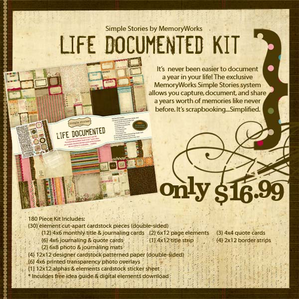 Life Documented Kit