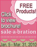 Stampin Up Sale A Bration 2010