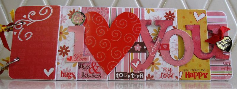Valentine Chipboard Kit