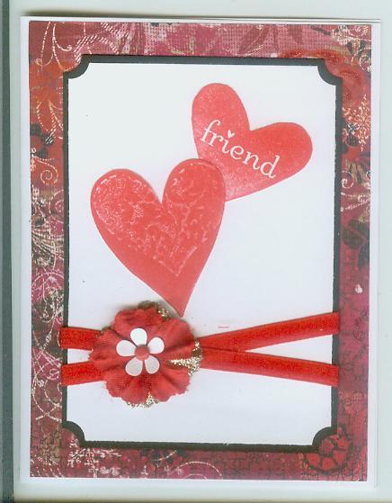 SU Valentine I Heart Hearts by Brenda