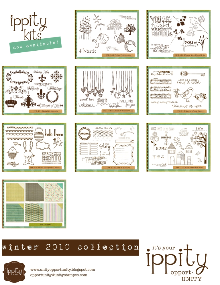 Ippity Winter 2010 Collection overview