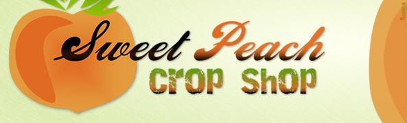 Sweet Peach logo header
