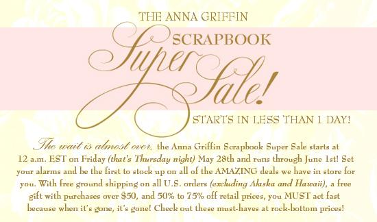Anna Griffin super sale