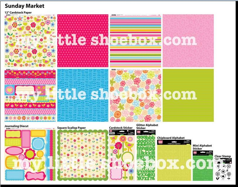 My little shoebox CHA Sneak Sunday Market