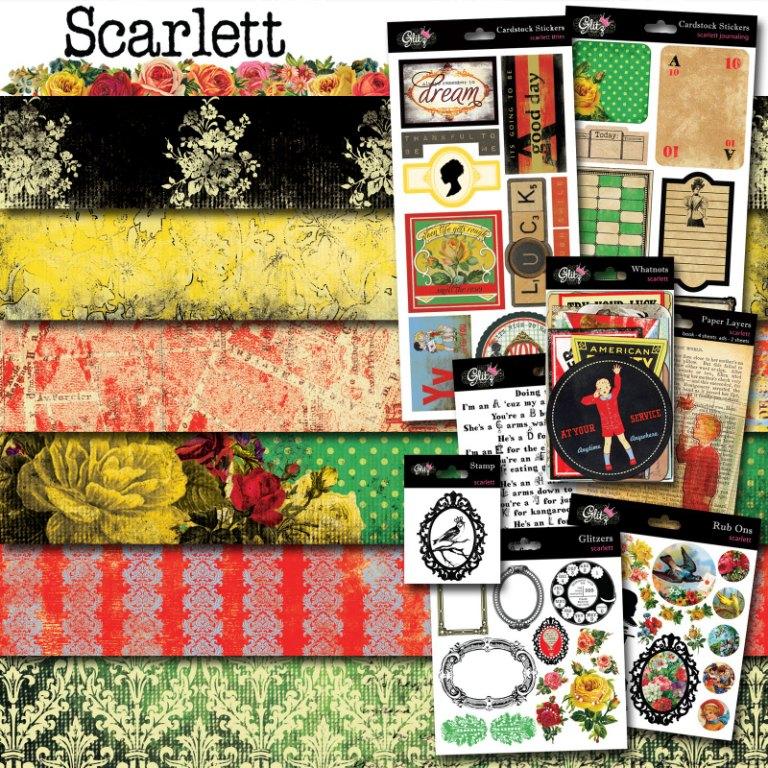 Glitz Designs Scarlett Collection